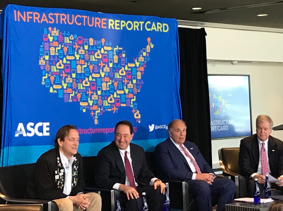 Drew Greenblatt During ASCE Infrastructure Report Card Panel
