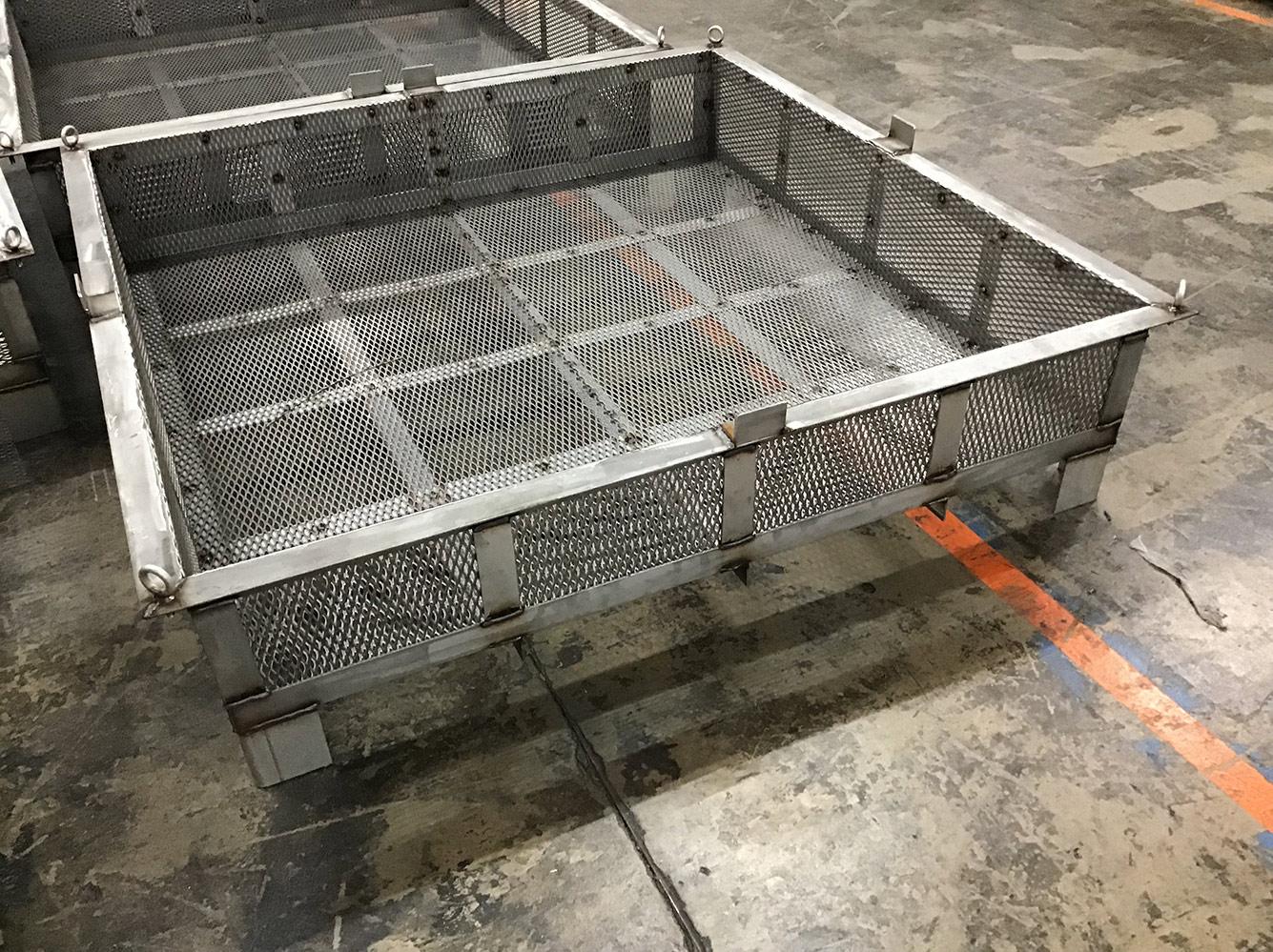 Making Super-Sized Hoist Baskets for Materials Handling