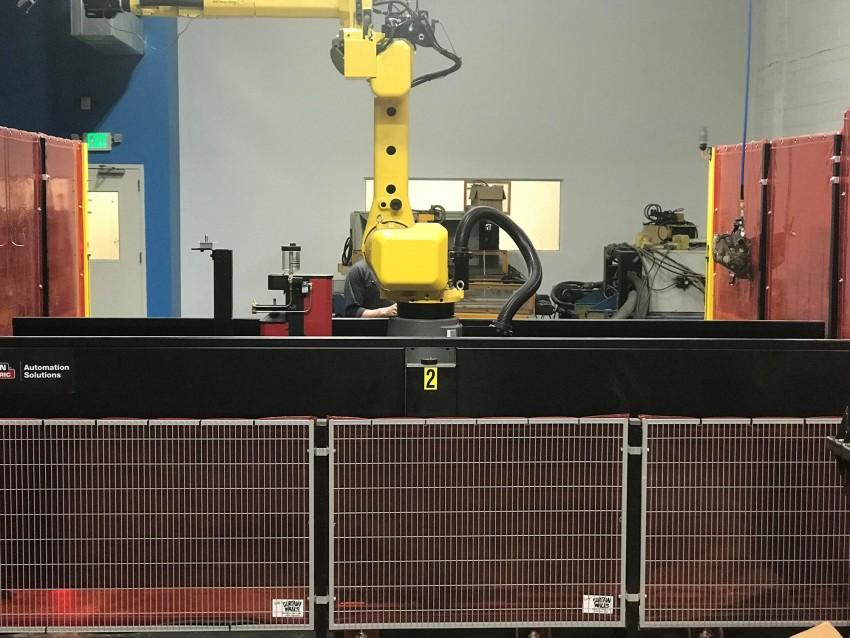 Robotic Tig And Mig Welding