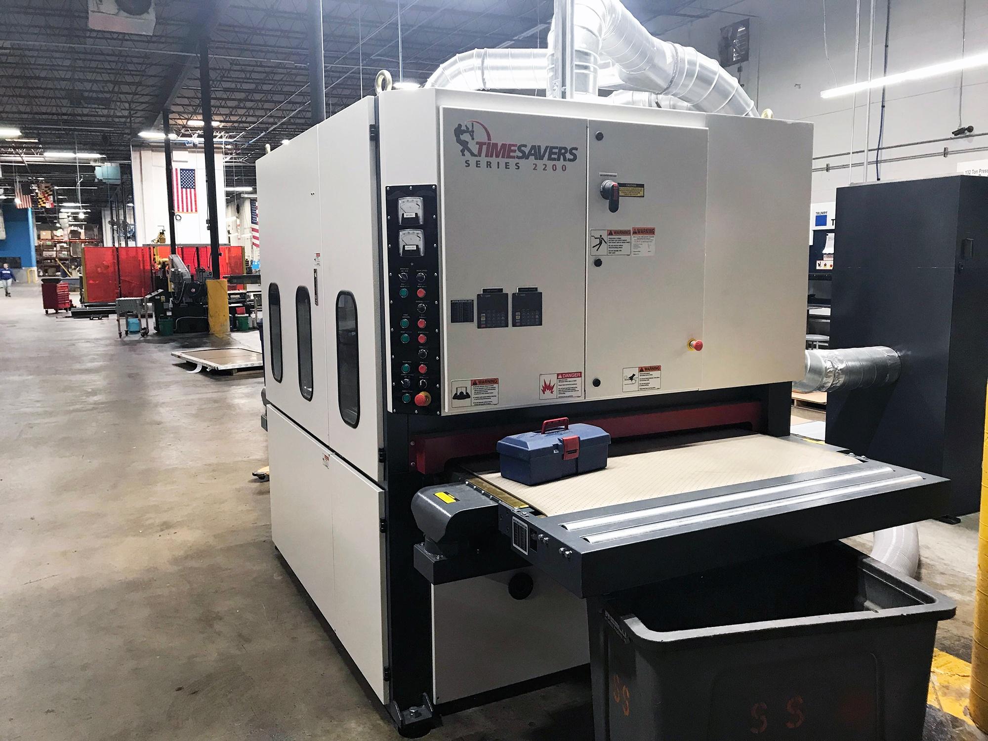 Marlin Steel Adds Timesavers 2200 Series Deburring Machine