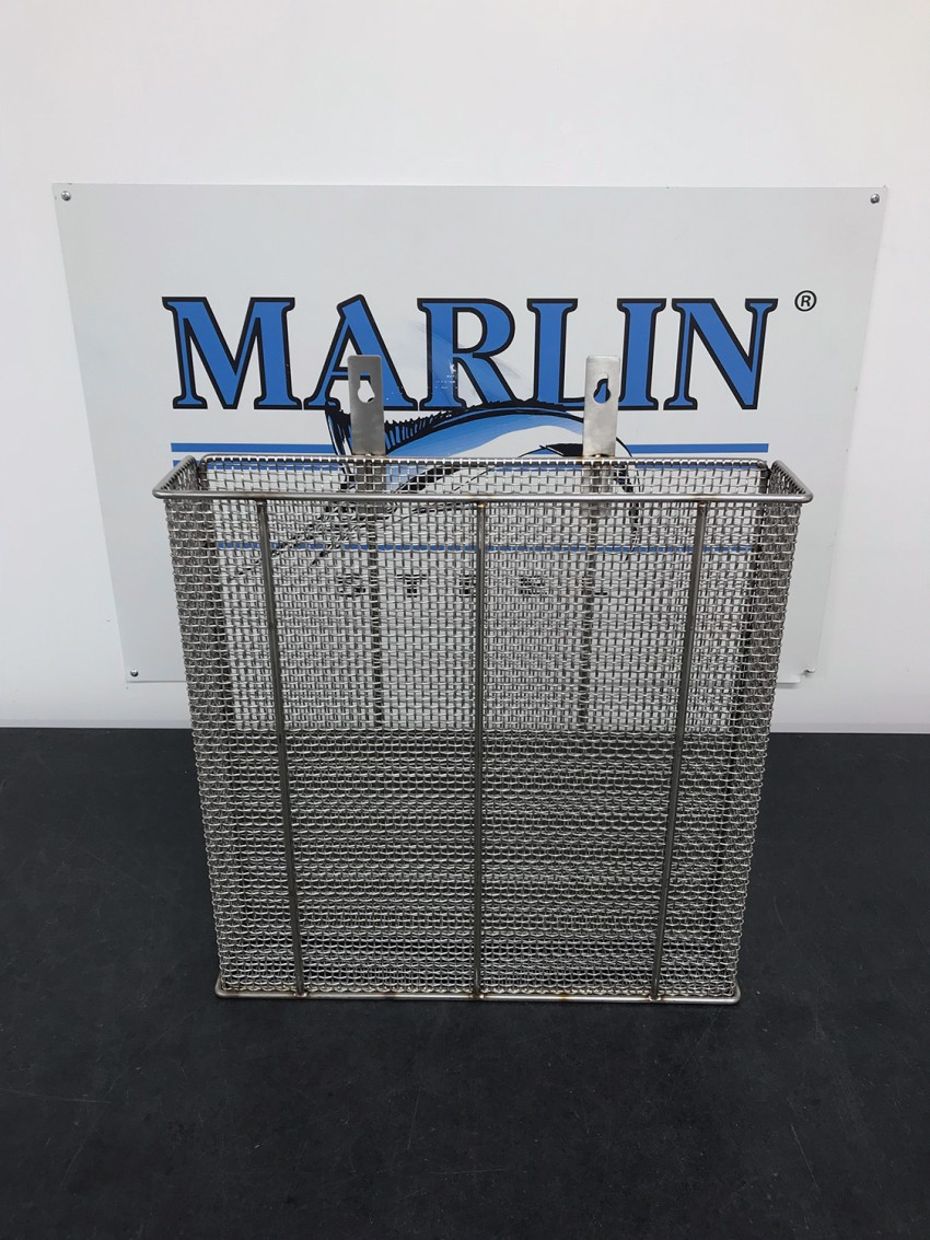 Custom Wire Mesh Baskets That Latch to Washing Tank Sides