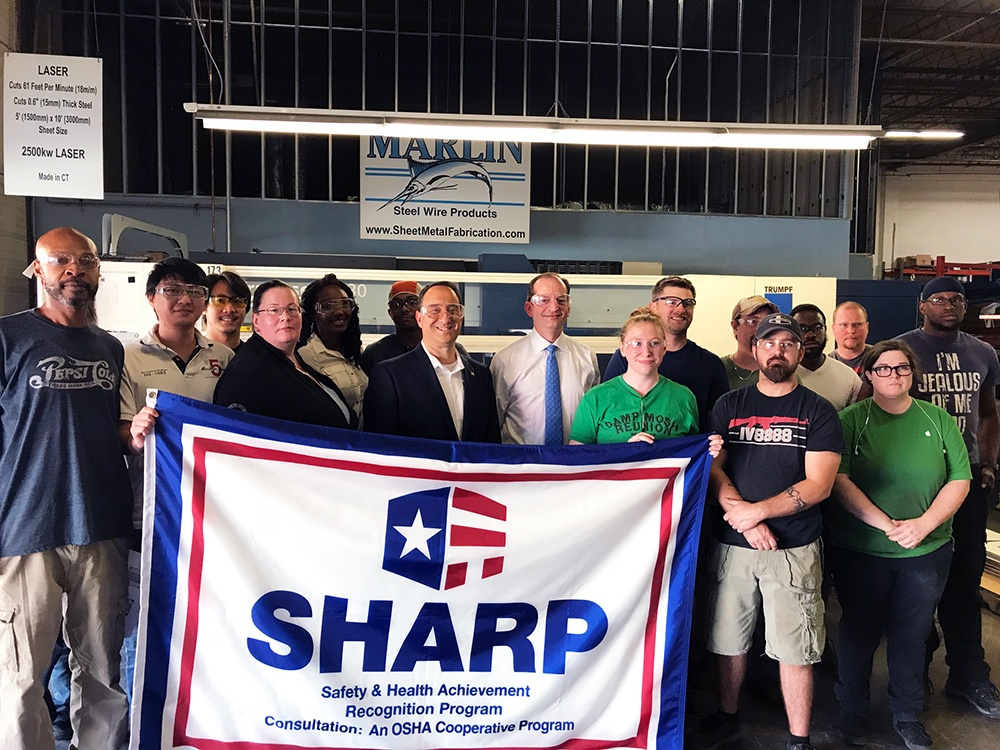 Manufacturing Day Highlights: Labor Secretary Acosta at Marlin Steel!