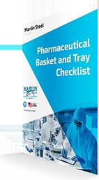 Pharmaceutical Basket & Tray Checklist