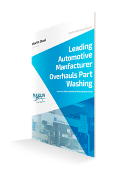 Automotive Manufacturer Overhauls Part Washing